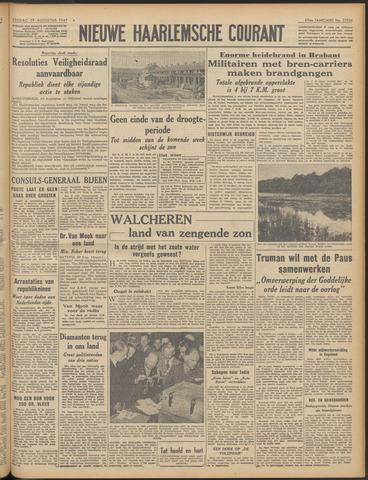 Nieuwe Haarlemsche Courant 1947-08-29