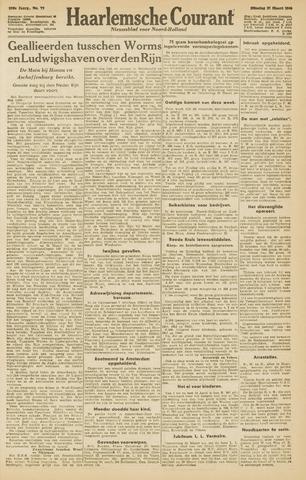 Haarlemsche Courant 1945-03-27