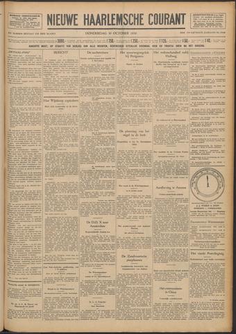 Nieuwe Haarlemsche Courant 1930-10-30