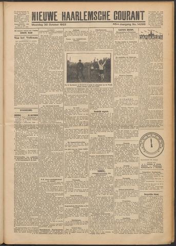 Nieuwe Haarlemsche Courant 1922-10-30