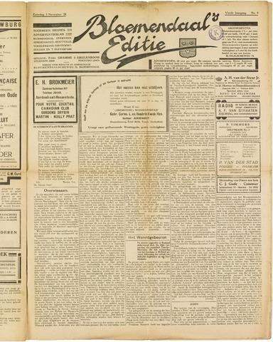Bloemendaal's Editie 1928-11-03