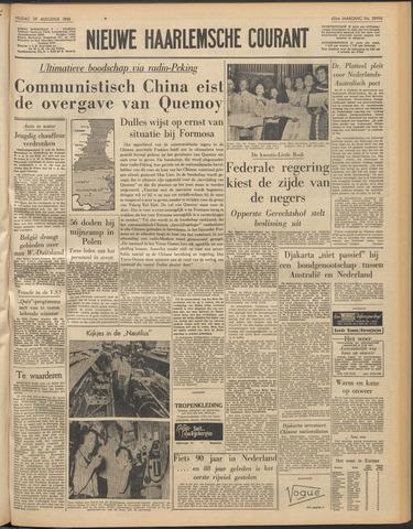Nieuwe Haarlemsche Courant 1958-08-29