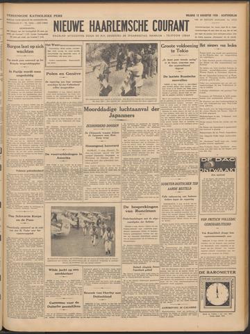 Nieuwe Haarlemsche Courant 1938-08-12