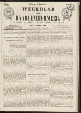 Weekblad van Haarlemmermeer 1862-08-08