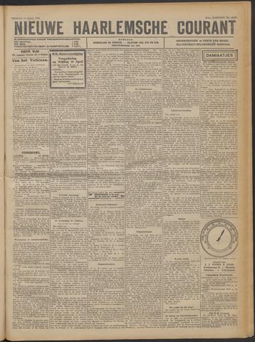 Nieuwe Haarlemsche Courant 1922-04-18