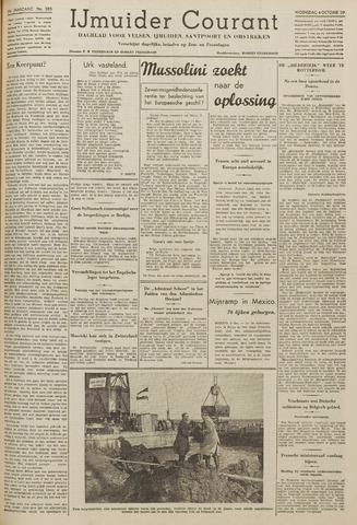 IJmuider Courant 1939-10-04
