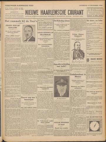 Nieuwe Haarlemsche Courant 1932-12-10