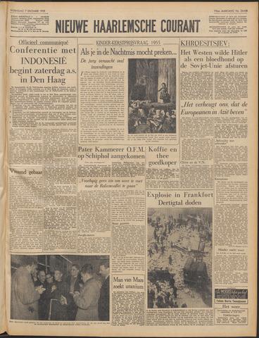 Nieuwe Haarlemsche Courant 1955-12-07