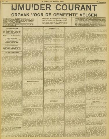 IJmuider Courant 1922-02-22