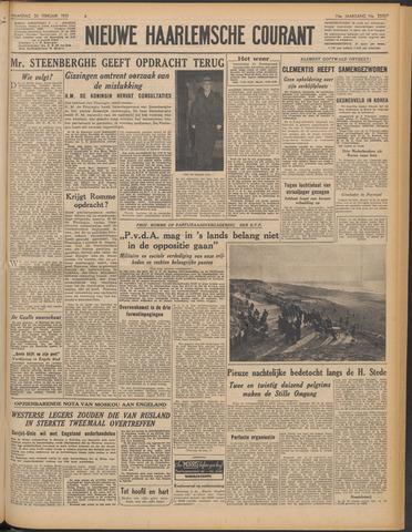 Nieuwe Haarlemsche Courant 1951-02-26