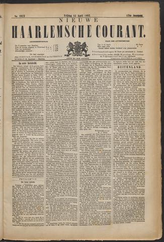 Nieuwe Haarlemsche Courant 1892-04-15