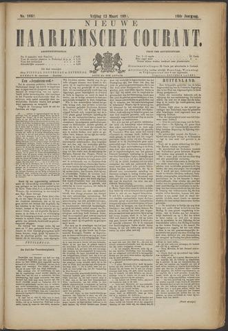 Nieuwe Haarlemsche Courant 1891-03-13