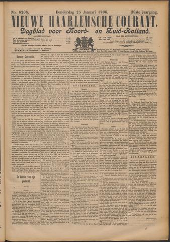 Nieuwe Haarlemsche Courant 1906-01-25