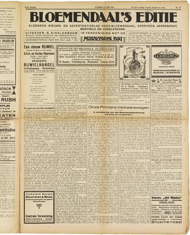 Bloemendaal's Editie 1926-05-29