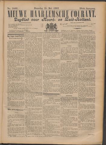 Nieuwe Haarlemsche Courant 1903-05-25