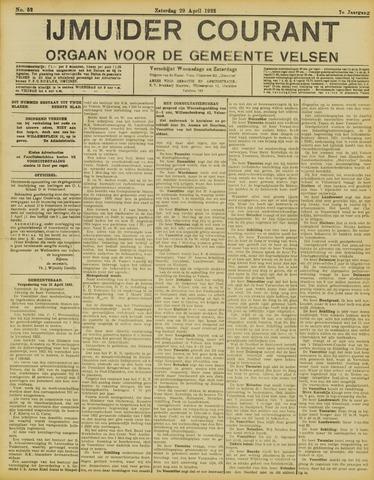 IJmuider Courant 1922-04-29