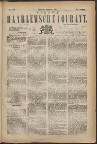 Nieuwe Haarlemsche Courant 1891-09-18