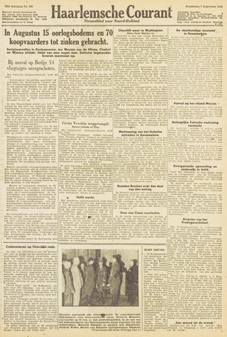 Haarlemsche Courant 1943-09-02