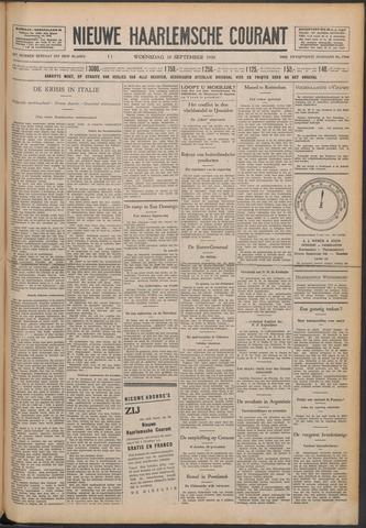 Nieuwe Haarlemsche Courant 1930-09-10