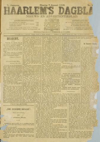 Haarlem's Dagblad 1890