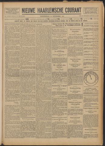 Nieuwe Haarlemsche Courant 1931-11-12