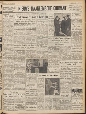Nieuwe Haarlemsche Courant 1953-01-22