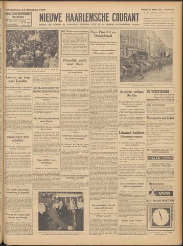 Nieuwe Haarlemsche Courant 1939-03-21