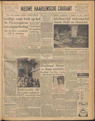 Nieuwe Haarlemsche Courant 1958-10-27