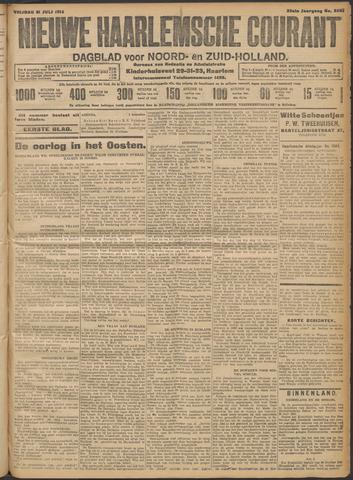 Nieuwe Haarlemsche Courant 1914-07-31