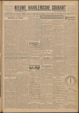 Nieuwe Haarlemsche Courant 1924-10-29