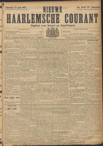 Nieuwe Haarlemsche Courant 1907-07-23