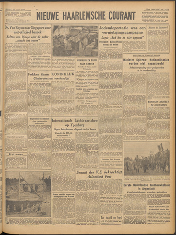 Nieuwe Haarlemsche Courant 1949-07-22