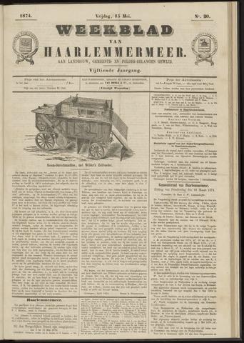 Weekblad van Haarlemmermeer 1874-05-15