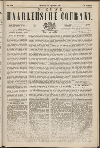 Nieuwe Haarlemsche Courant 1882-09-21