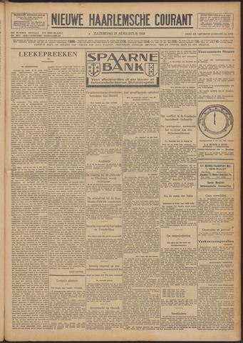 Nieuwe Haarlemsche Courant 1928-08-25