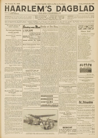 Haarlem's Dagblad 1935-09-20