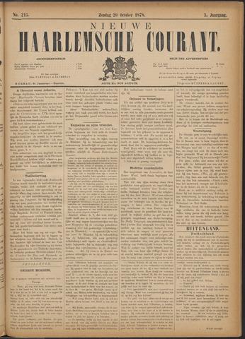 Nieuwe Haarlemsche Courant 1878-10-20