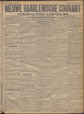 Nieuwe Haarlemsche Courant 1915-04-24