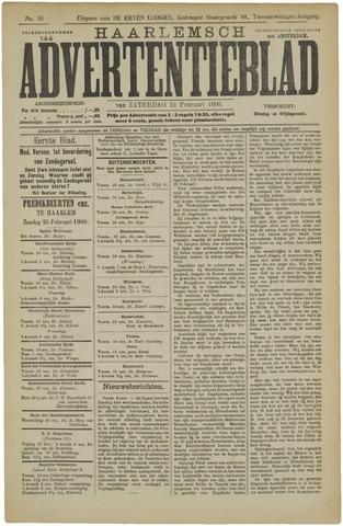 Haarlemsch Advertentieblad 1900-02-24