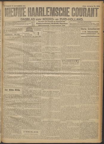 Nieuwe Haarlemsche Courant 1914-09-19