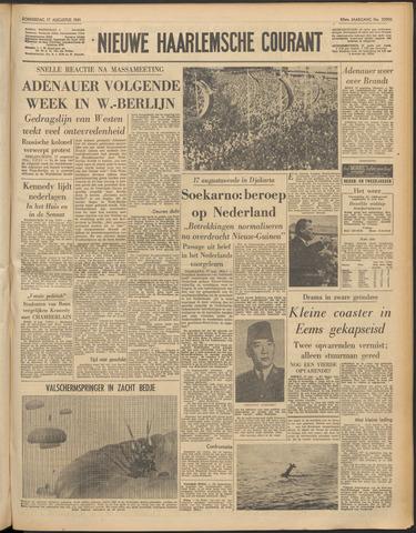 Nieuwe Haarlemsche Courant 1961-08-17