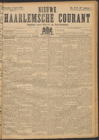 Nieuwe Haarlemsche Courant 1907-04-03