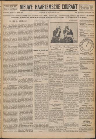 Nieuwe Haarlemsche Courant 1930-08-26