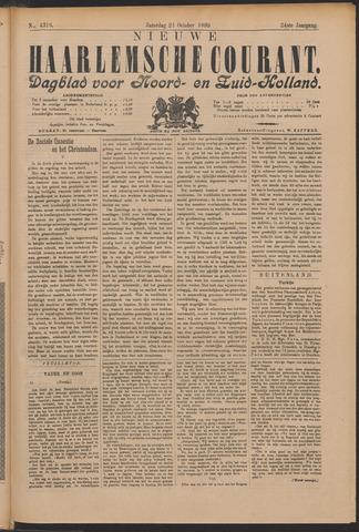Nieuwe Haarlemsche Courant 1899-10-21