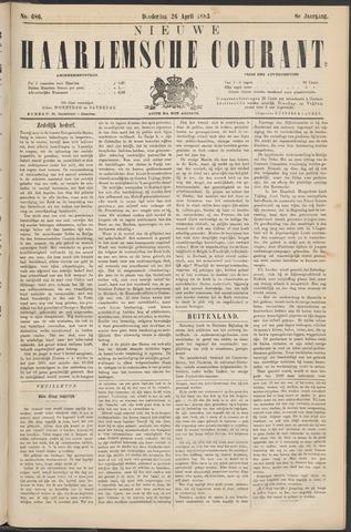 Nieuwe Haarlemsche Courant 1883-04-26