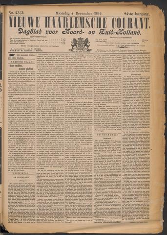 Nieuwe Haarlemsche Courant 1899-12-04