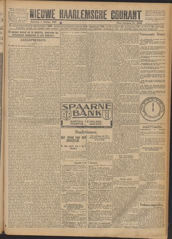 Nieuwe Haarlemsche Courant 1927-10-01