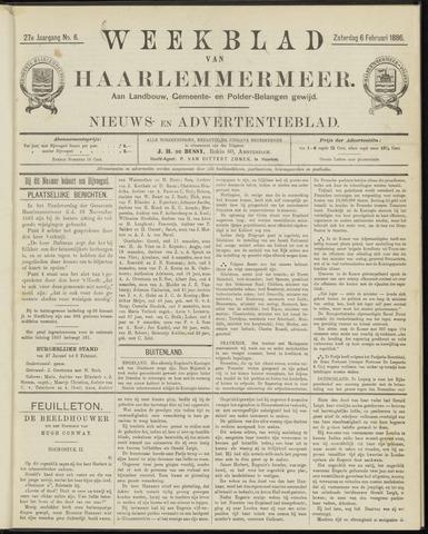Weekblad van Haarlemmermeer 1886-02-06
