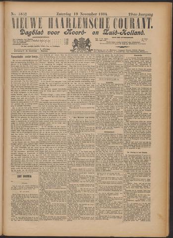 Nieuwe Haarlemsche Courant 1904-11-19