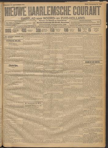 Nieuwe Haarlemsche Courant 1911-09-26
